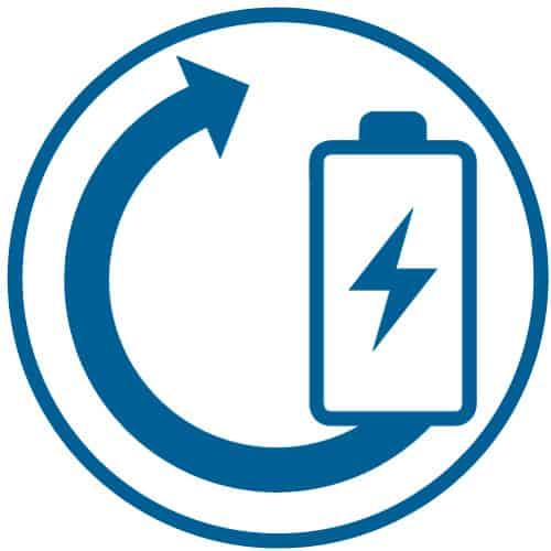 Icon Energierueckgewinnung